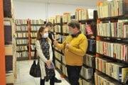 Znovuotvorenie knižnice.