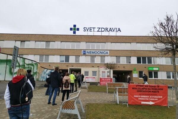 Spišskonovoveská nemocnica.