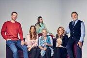 Hlavné obsadenie seriálu Najhorší týždeň môjho života, ktorý TV Markíza vysiela od 7. januára.
