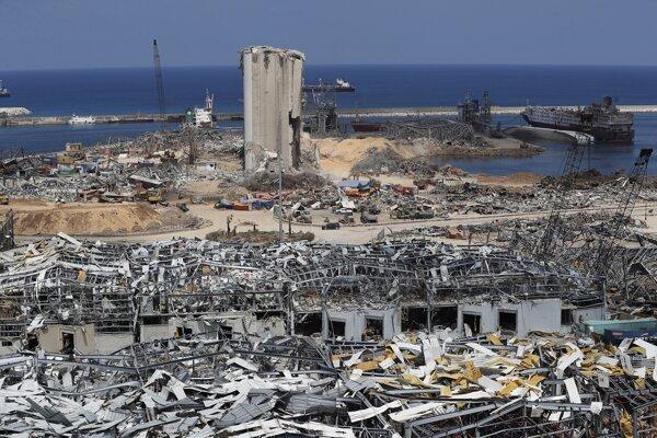 K výbuchu v prístave libanonskej metropoly Bejrút došlo začiatkom augusta 2020.