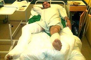 Lukáš Bukovič má pravú nohu v sadre. Jeho achilovka nevydržala.