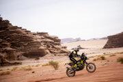Štefan Svitko na Rely Dakar 2021.