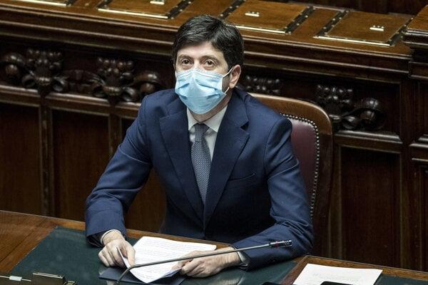 Taliansky minister zdravotníctva Speranza