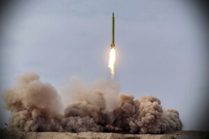 Test balistickej rakety.