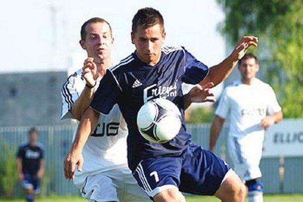 Anton Bábik z Alekšiniec strelil Zlatým Klasom štyri góly.