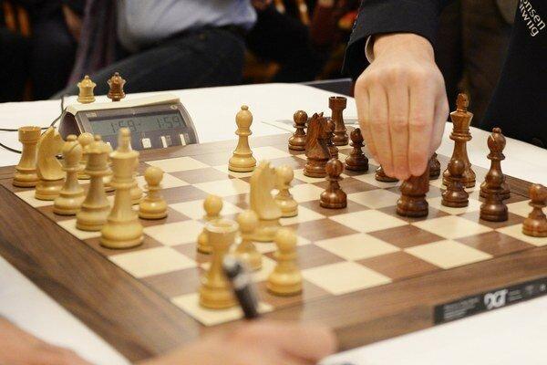 Šach, ilustračná fotografia.
