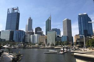Mesto Perth.