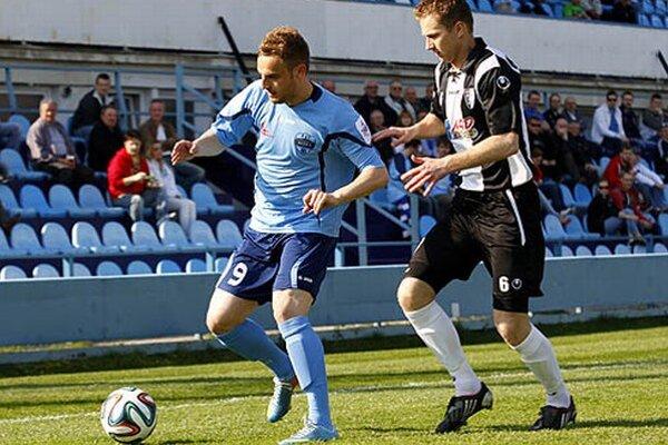 Prvé dva góly Nitry v zápase strelil Matúš Mikuš, na jar už autor štyroch presných zásahov.