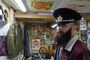 Múzeum ZSSR v Novosibirsku bol v podstate náš jediný cieľ, prečo sme v tomto priemyselnom meste chceli stáť.