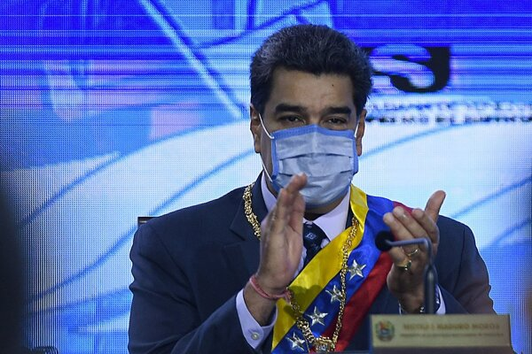 Nicolás Maduro, prezident Venezuely.
