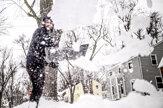 Stredozápad USA zasiahlo husté sneženie