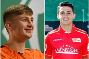 Ole Käuper (vľavo) a Eroll Zejnullahu by mali posilniť stred poľa FC Nitra.