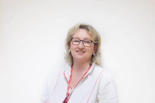 Adriana Kršáková, prednostka Kliniky infektológie FN Trnava.