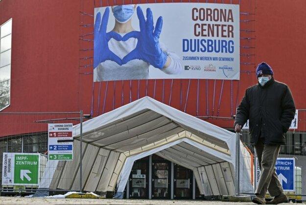 V nemeckom Duisburgu zriadili očkovacie centrum v priestoroch muzikálového divadla.