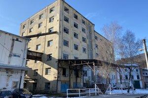 Bývalý mlyn vo Veľkom Šariši.