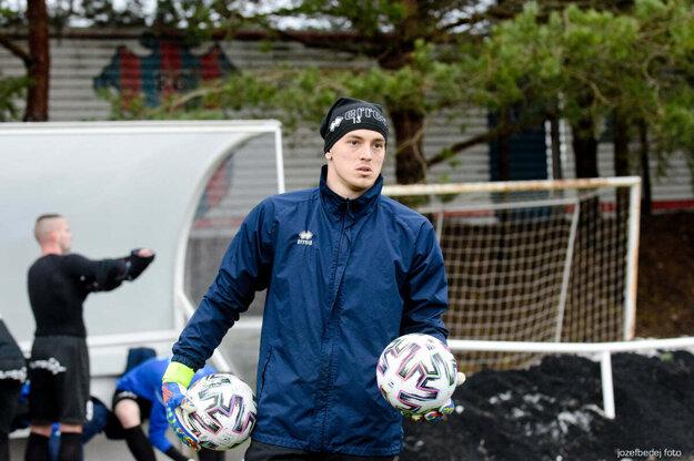 Adrián Chovan vynechal jediný prípravný zápas Zlatých Moraviec (0:2 s Podbrezovou) pre menšie zranenie.