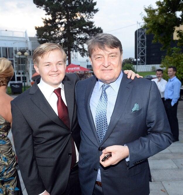 Ladislav Štaidl so synom Arturom.