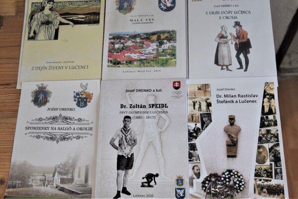 Jozef Drenko patrí k neúnavným propagátorom regionálnej histórie.