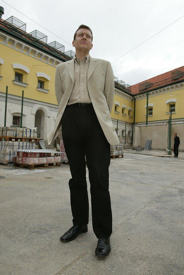 Ako minister vnútra navštívil väznicu v Leopoldove.