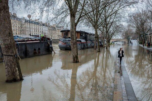 Povodne vo Francúzsku
