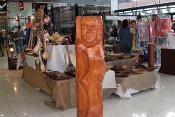 Rôzne druhy umenia a umeleckých výrobkov ponúkali Dni originality v Mlynoch.