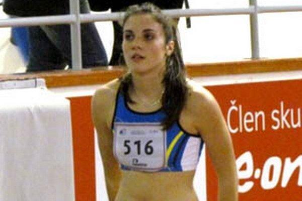 Natália Ostrožlíková bola najrýchlejšia na 60 m medzi dorastenkami.