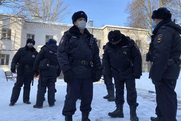 Ilustračná snímka ruskej polície.