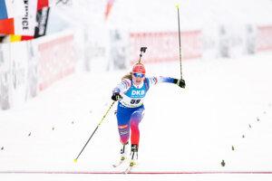 Paulína Fialková dnes ide šprint žien na MS v biatlone 2021.