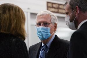 Líder republikánskej väčšiny v americkom Senáte Mitch McConnell