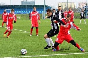 Futbalisti Šale prehrali s prvoligovou Myjavou 0:1.