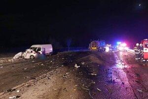 Smrteľná dopravná nehoda sa stala medzi Prešovom a Kapušanmi.
