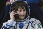 ESA špeciálne vyzýva ženy, aby si podávali žiadosti. Na snímke talianska astronautka Samantha Cristoforetti.