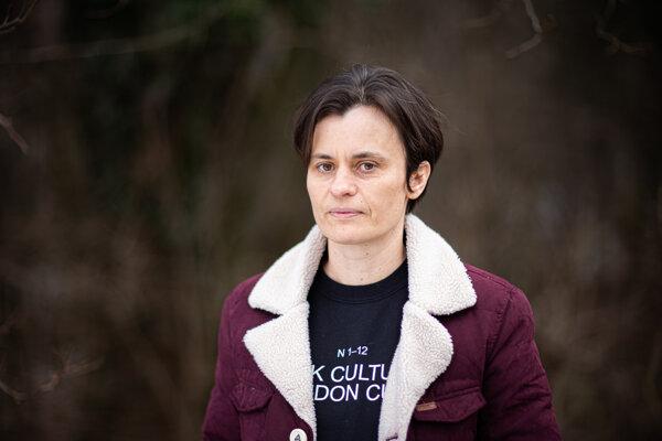 Dizajnérka Mária Čorejová.