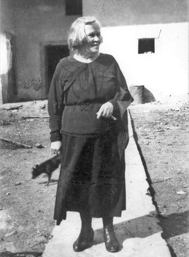 Božena Slančíková - Timrava, najznámejšia rodáčka z Polichna.