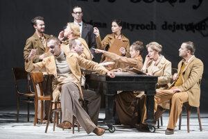 Štátne divadlo Košice uvádza svetovú premiéru hry Borodáč alebo Tri sestry,