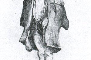 Jaroslav Augusta, kysucký drotár, rok 1903
