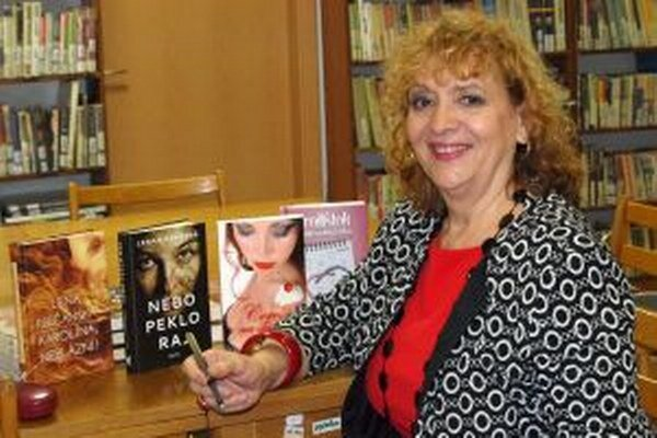 Lena Riečanská píše najmä ženské romány.