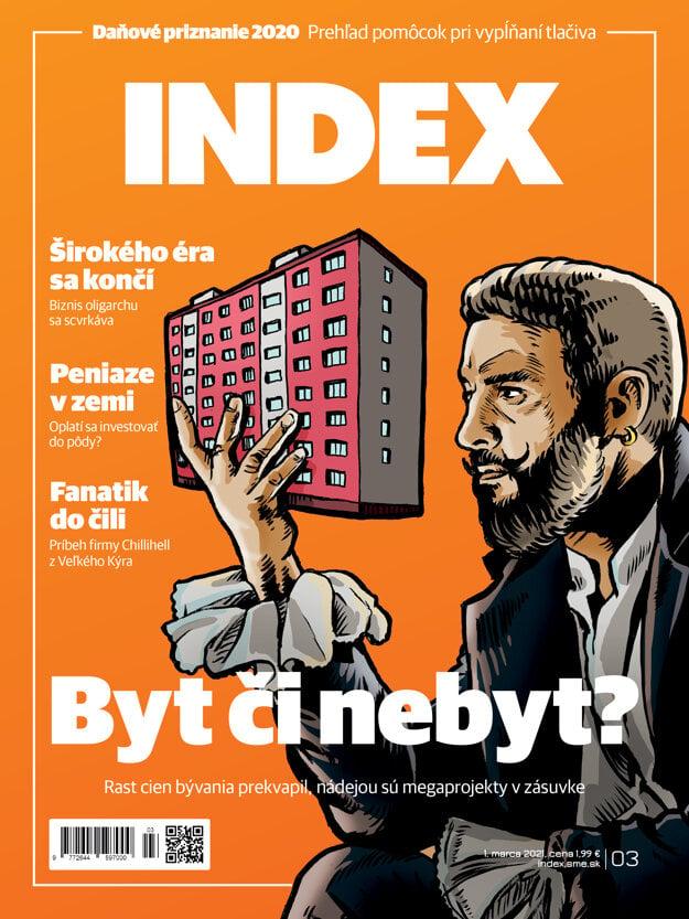Marcové číslo magazínu INDEX.