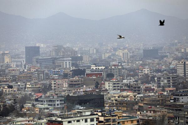 Hlavné mesto Afganistanu Kábul.