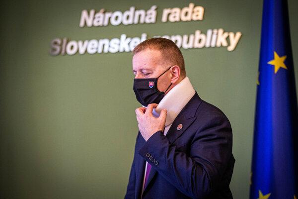 Predseda Národnej rady SR Boris Kollár.
