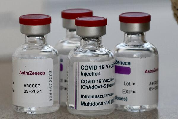 Vakcína AstraZeneca.