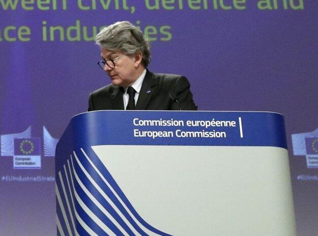 Eurokomisár Thierry Breton.