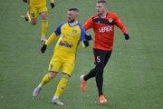 Erik Pačinda v drese FC Košice na ilustračnej fotografii.