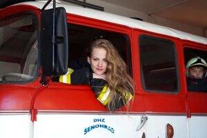 Marianna Hercegová je členkou Dobrovoľného hasičského zboru mesta Zvolen.