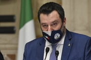 Taliansky politik Matteo Salvini.