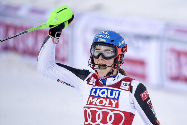 Po senzačnom výkone v slalome sa Petra Vlhová vrátila na čelo svetového pohára.