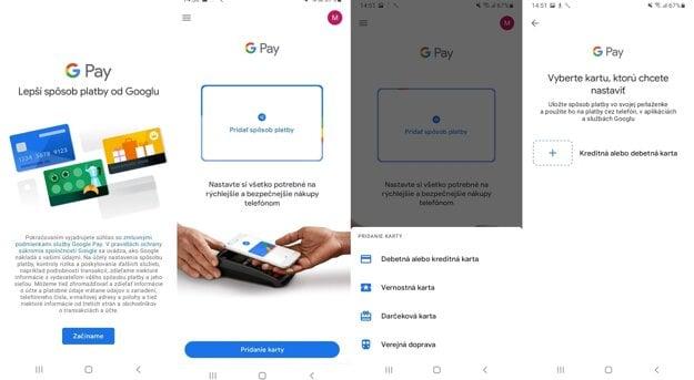 Pridanie platobnej karty pre smartfóny s Androidom.
