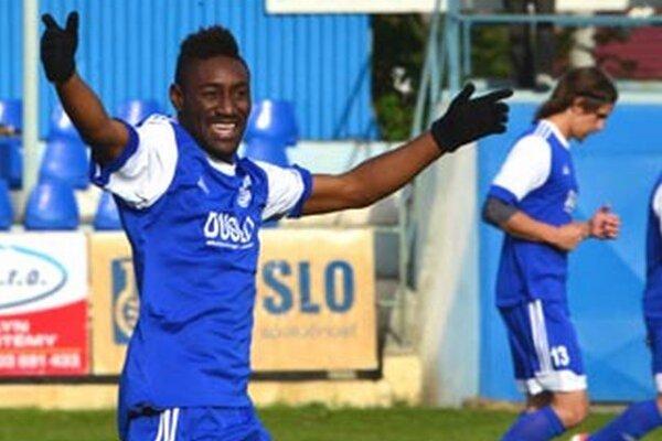 Víťazný gól strelil Lewis Mukalenga.