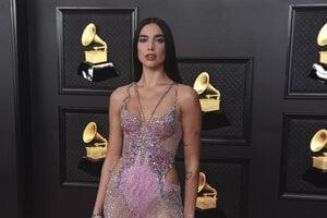 Dua Lipa na Grammy Awards 2021