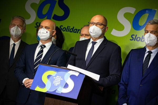 Strana SaS.